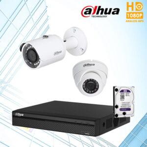 Bộ 2 camera Dahua Ben Tre