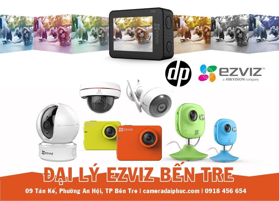 Camera EZVIZ Bến Tre – Đơn vị lắp đặt & Bảo hành Camera EZVIZ tại Bến Tre