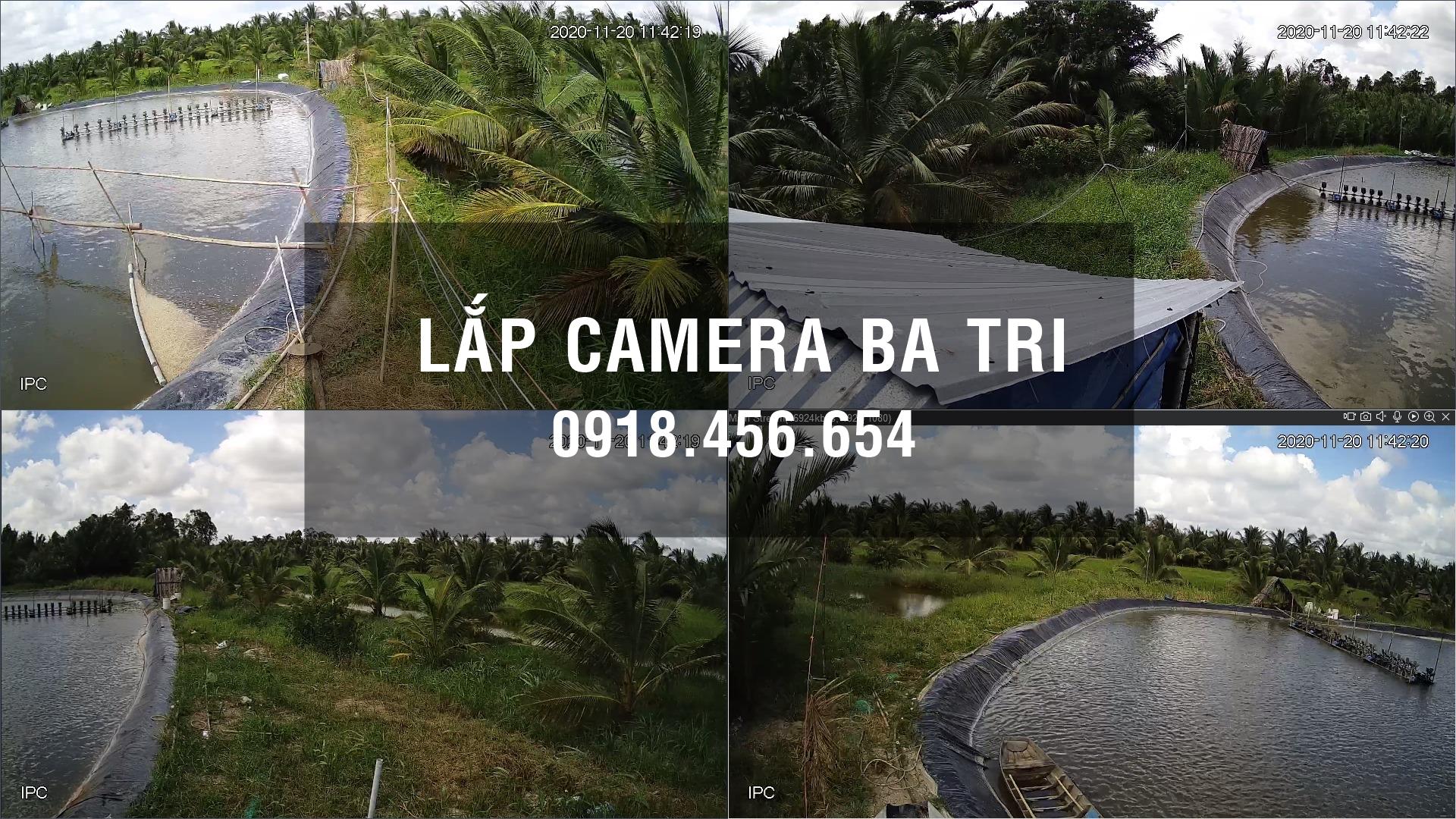 Lắp camera trọn gói ở Ba Tri, Bến Tre – Uy tín, Chất lượng, Giá rẻ