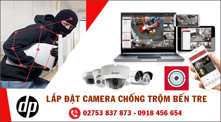 Lắp camera chống trộm uy tín tại Bến Tre