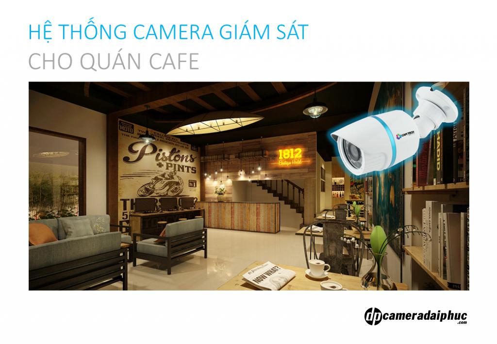 Lắp đặt camera cho quán cafe – Giải pháp Camera trọn gói
