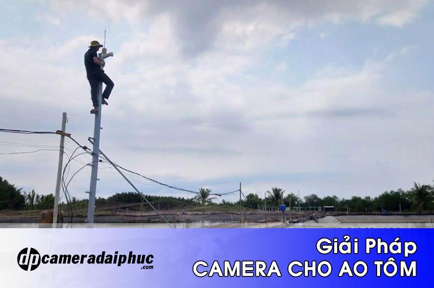 Giải pháp lắp camera quan sát ao tôm, vuông tôm chống trộm