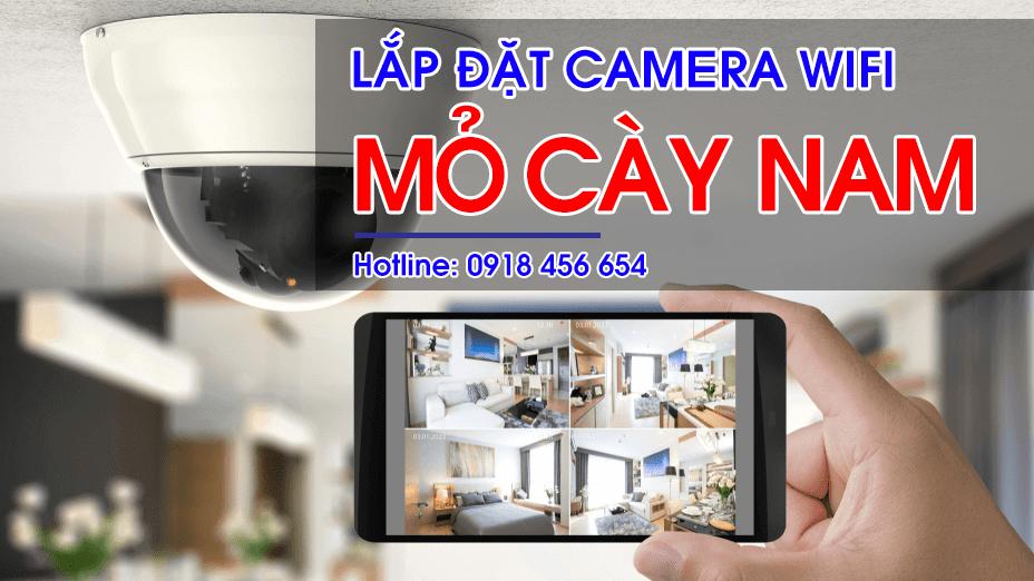Lắp đặt Camera Wifi tại Mỏ Cày Nam , Bến Tre – Tặng kèm thẻ nhớ 32G chính hãng
